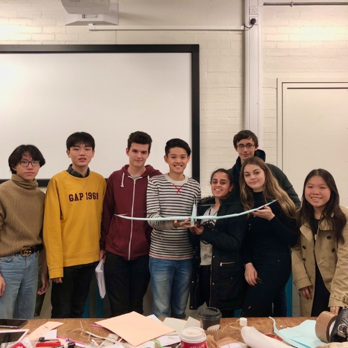A creative group project at Imperial College London