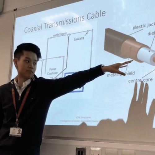 Presentation on Jovian Radio Emissions